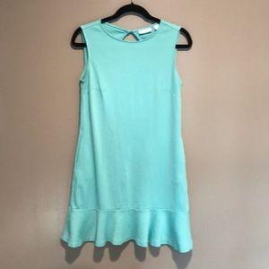 Teal Sleeveless Cotton Dress by NY & CO
